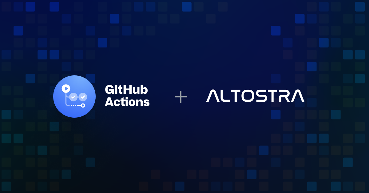 Announcing Altostra partnership with GitHub